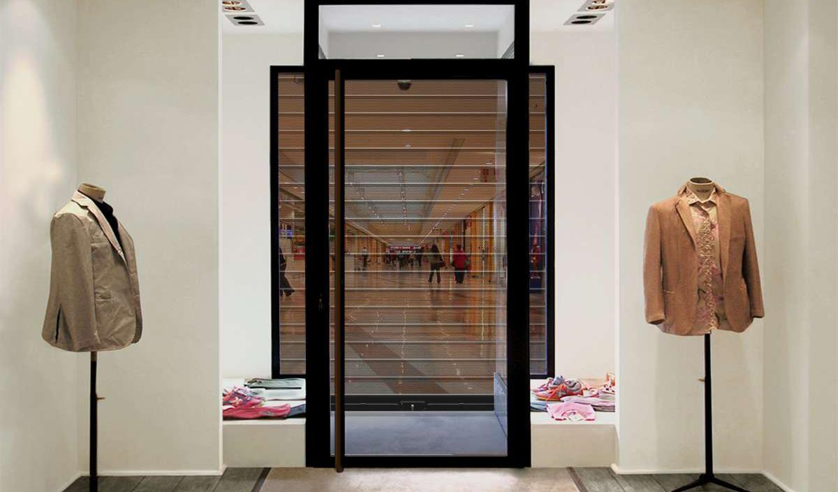 rideau metallique gamme compl te de rideaux et grilles m talliques de s curit enroulement. Black Bedroom Furniture Sets. Home Design Ideas