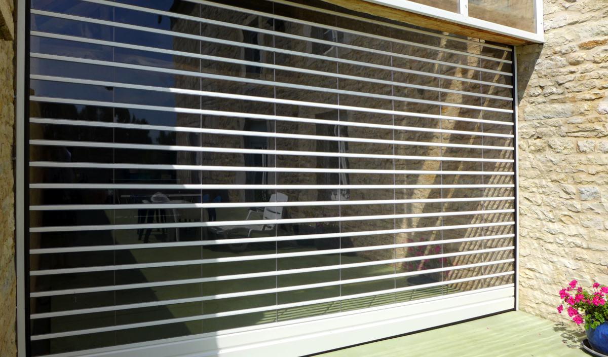 TRANSPARENCE by Javey - rideau de protection à lames transparentes ...